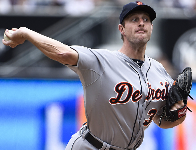 Fresh off his first Cy Young, Max Scherzer leads a strong Detroit rotation into the 2014 season.