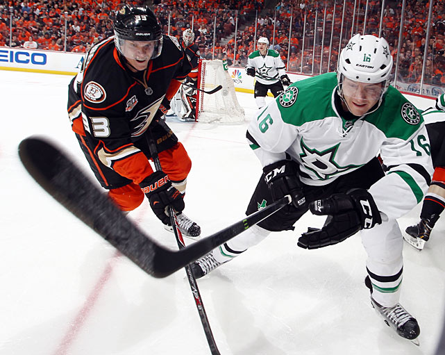 The 28-year-old late bloomer was a surprise contributor to the Stars, ranking third in goal scoring (17) while providing rambunctious energy on an effective third line. Dallas will live or die with the contributions of Tyler Seguin and Jamie Benn, but Garbutt has the speed and puck hunger to play a key supporting role ... as long as he controls his emotions better than he did in Game 1 against the Ducks.