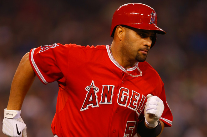 34-year-old Albert Pujols bounced back from a bad start and has hit six home runs over his last 10 games.