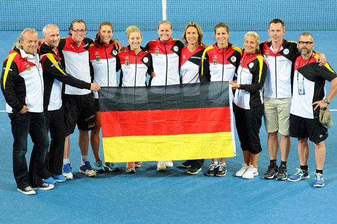 Germany's semifinal win gives it its first Fed Cup final berth since 1992, when it beat Spain for the title.