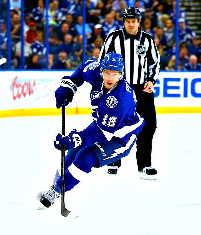 Just goes to show that you never know what you're going to get in the draft. Palat was passed over in his first year of eligibility, then had to wait as 207 names were called before the Lightning finally tabbed him at the bottom of the 2011 draft. He repaid their confidence by finishing second on the Bolts in scoring (59 points) and creating a consistent offensive option that helped them withstand the long absence of sniper Steven Stamkos. Palat, a likely Calder Trophy finalist, was injured in Game 1, but he should be back in time to make his mark on the series.