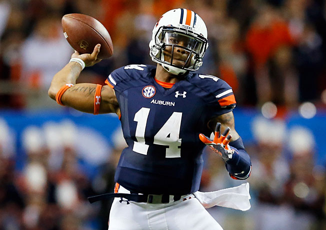 After passing for 1,976 yards and 14 TDs last season, Auburn QB Nick Marshall could air it out in 2014.