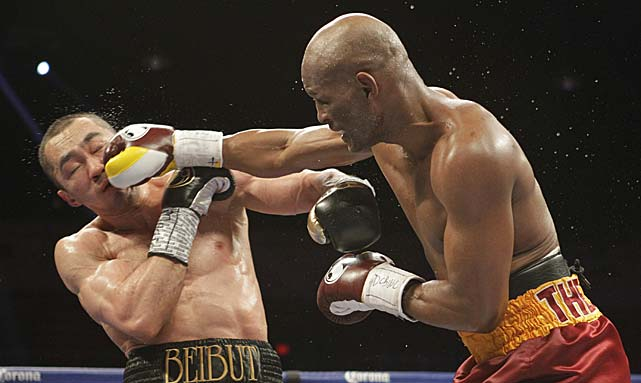 Bernard Hopkins ran his record to 55-6-2 with Saturday's victory over Beibut Shumenov.