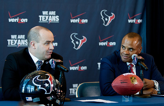 What will the Texans do at No. 1? That remains a mystery with a little over two weeks until the draft.