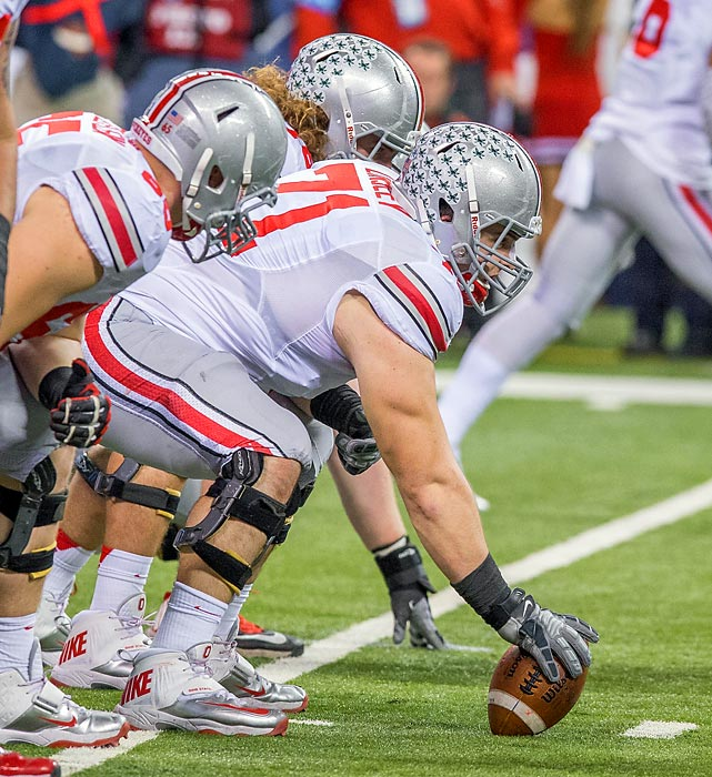 Corey Linsley is a strong, aggressive blocker who showed enough quickness to lock down a starting job in Urban Meyer's shotgun-heavy spread offense. He worked as at least a backup all over Ohio State's line before settling in at center. Should he show the same versatility as an NFL prospect, he could be a valuable member of a depth chart. Draft projection: Round 7