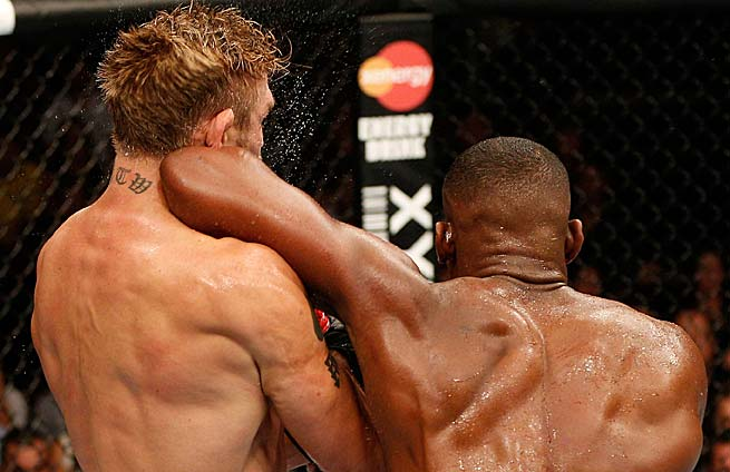 A fourth-round elbow by Jon Jones turned around his fight against Alexander Gustafsson.