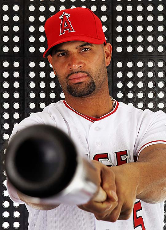 The Los Angeles Angels of Anaheim won the three-team pursuit of Pujols after the 2011 season, signing him to a 10-year, $254 million contract.