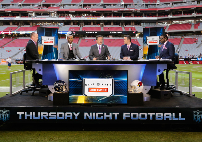 In a new deal, the NFL Network will now be sharing its lineup of Thursday night games with CBS.