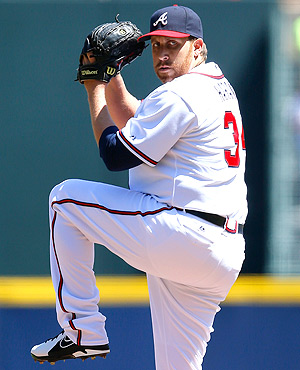 Aaron Harang hurled 11 strikeouts in his fifth start of the season against Miami on Wednesday.