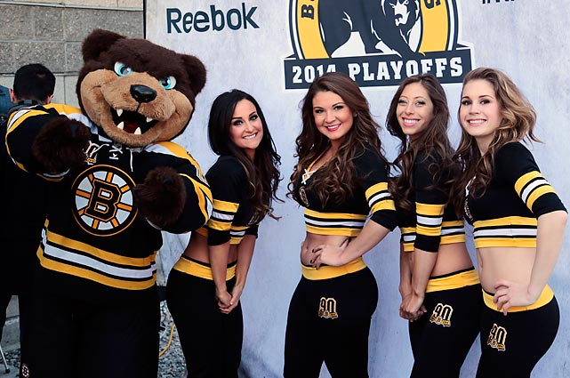 Ever wonder why mascots always seem to get all the girls? Neither do we.