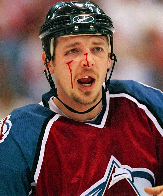 The pint-sized pot-stirrer who mixed things up in the NHL for 15 seasons (1988-2003) often got as good as he gave and had the mug to prove it.