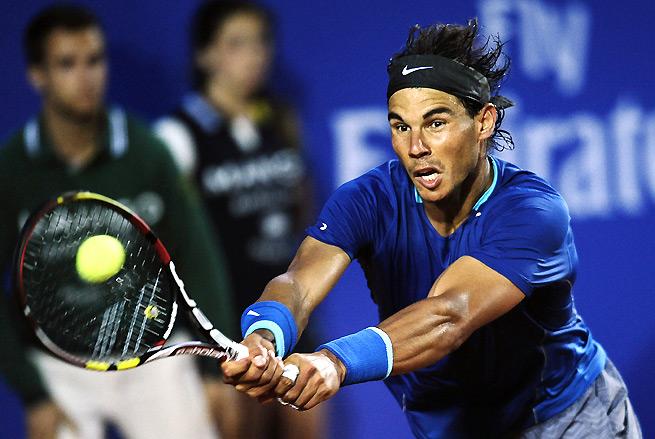 Rafael Nadal will take on Nicolas Almagro in the Barcelona Open quarterfinals.