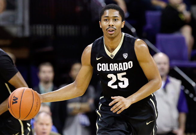 Spencer Dinwiddie sat out much of Colorado's 2013-14 season after tearing his ACL in January.