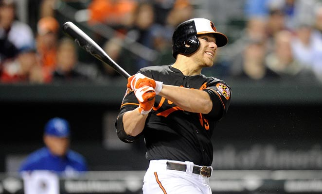 Orioles first baseman Chris Davis went on the DL on April 27, retroactive to April 26, with a side strain.