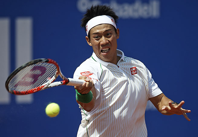 Japan's Kei Nishikori became the first non-Spaniard to win the Barcelona Open since 1996 on Sunday.