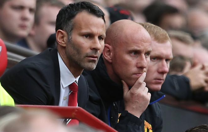 Once a part of a vaunted class of youth players, Ryan Giggs, Nicky Butt, and Paul Scholes are now running the show.