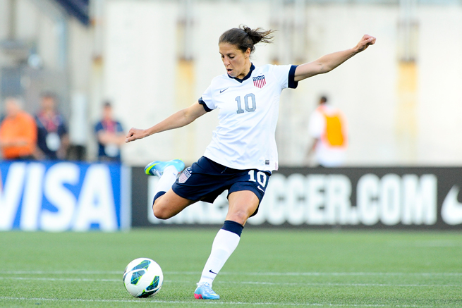 U.S. women's national team and Western New York Flash star Carli Lloyd was hit with a two-game NWSL ban for an incident against the Chicago Red Stars.