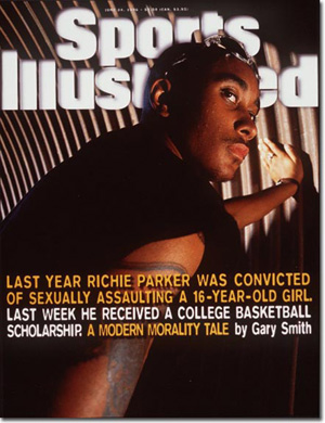 Richie Parker: Cover date, June 24, 1996