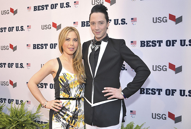 Tara Lipinski and Johnny Weir connected with audiences during the Sochi broadcast for NBC.