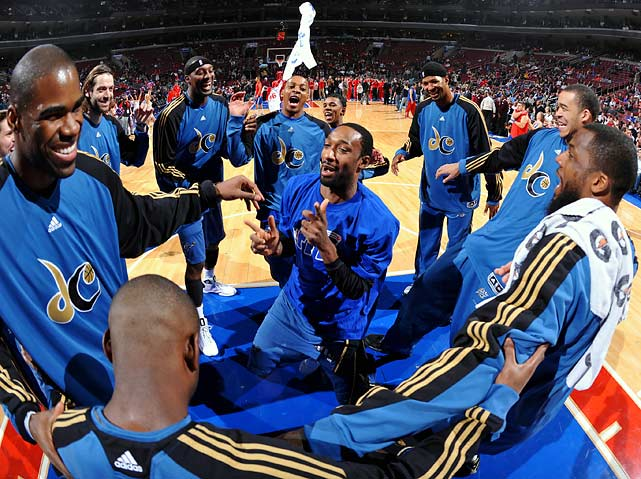 Three-time All-Star guard Gilbert Arenas, who had been suspended indefinitely and missed 12 games, was suspended for the remainder of the Washington Wizards' 2009-10 season -- 50 games in all -- after pleading guilty to gun charges for having weapons in the team's locker room.