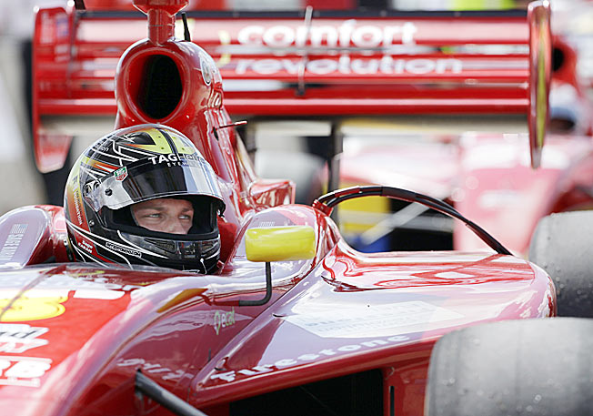 Sage Karam is the first driver to compete at all levels of the Mazda Road to Indy program and win.