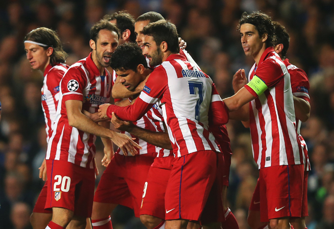 Atletico Madrid is on its way to the UEFA Champions League final after a 3-1 win over Chelsea at Stamford Bridge.