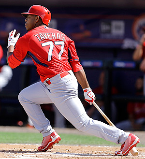 Oscar Taveras is the No. 2 prospect in all of baseball according to MLB.com.