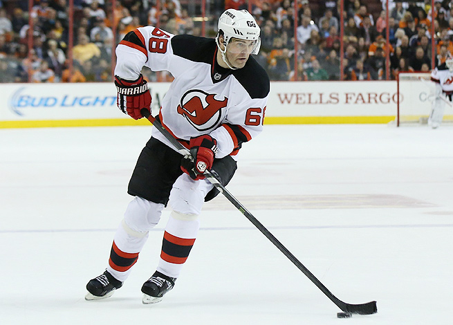 Jaromir Jagr had a resurgent season with the Devils and led the team with 67 points for the year.