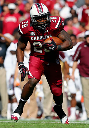 Despite losing stars, South Carolina returns the majority of its roster, including RB Mike Davis.