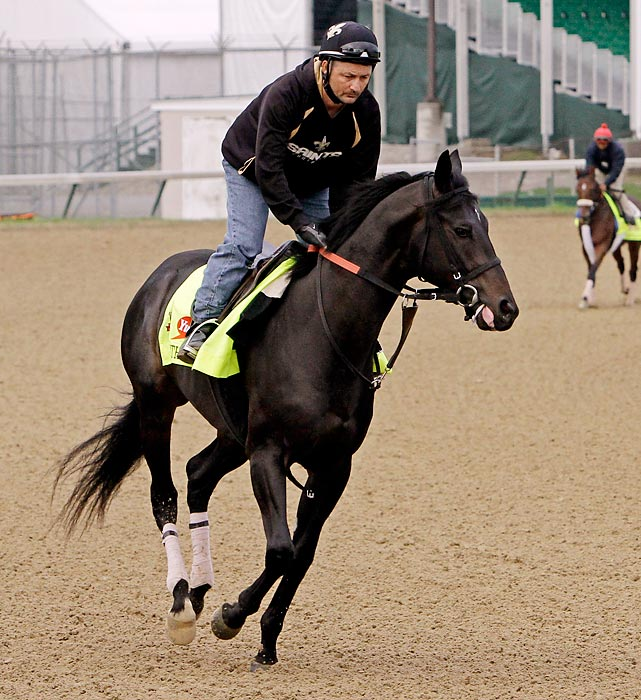 Trainer: Peter Eurton Jockey: Corey Nakatani If he wins the Derby, it will be the first victory of his career on dirt. In eight starts, the bay has won three times, including the Blue Grass Stakes at Keeneland on April 12. That was three weeks ago, and in addition to questions about which surface Dance With Fate prefers, there is also the fact that he usually likes more than 21 days between starts. He's good, but probably not the horse for this course.
