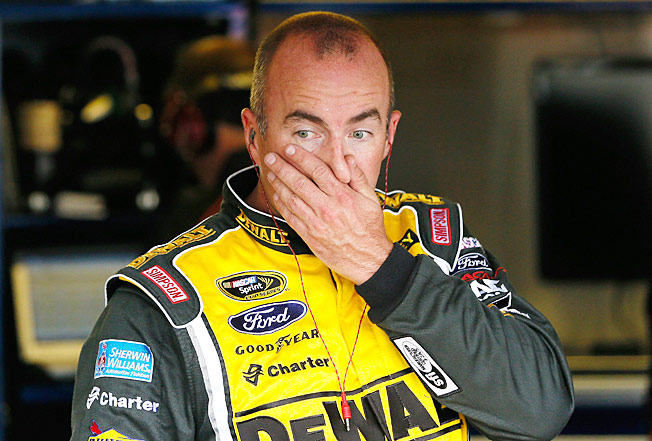 Speak no evil: Marcos Ambrose says he was never angry with Casey Mears despite their fracas.