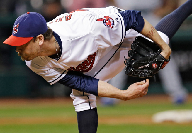 John Axford is back in the closer role for Cleveland after starring in it for Milwaukee in 2011.
