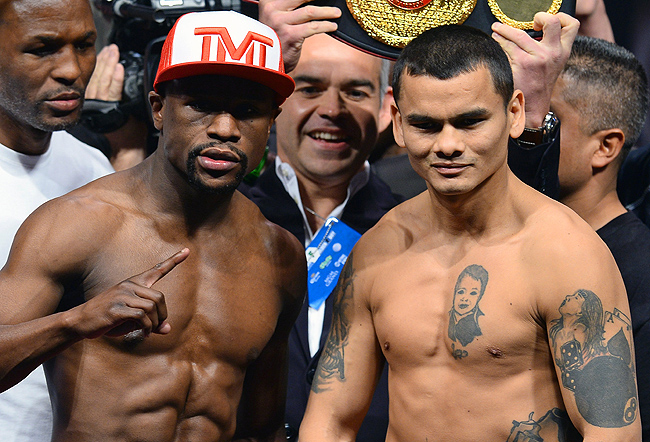 Mayweather vs. Maidana hasn't been generating much buzz for anything going on in the ring.