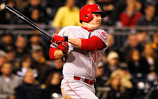 Jay Bruce will need surgery on a partially torn meniscus in his left knee, and will miss 3-4 weeks.