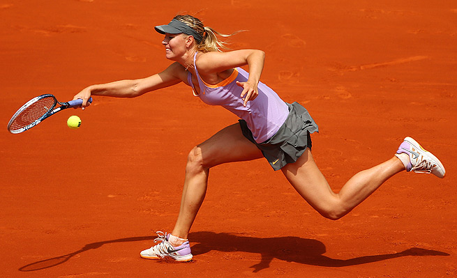 Maria Sharapova faced a tough test from Christina McHale, and was forced to rally back from 4-1 down in the third set.