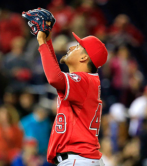 Ernesto Frieri converted his third save of the year, effectively winning back the closer position.