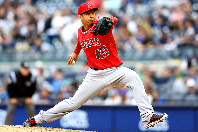 Ernesto Frieri has been supremely shaky at the closer's position, racking up a 6.28 ERA in 14.1 innings.