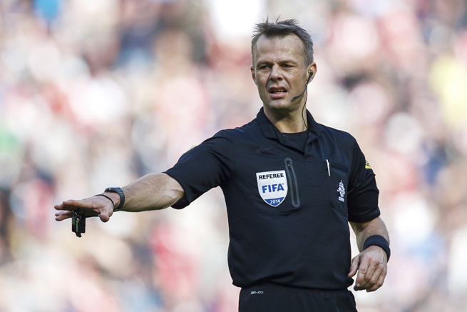 Dutch referee Bjorn Kuipers will work the UEFA Champions League final between Atletico Madrid and Real Madrid.