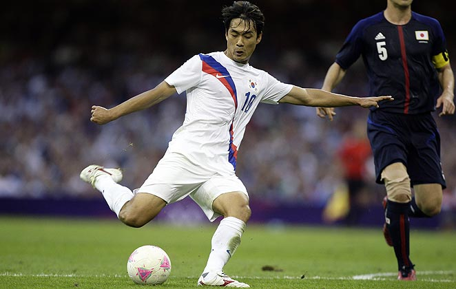 Park Chu-Young was chosen for South Korea's squad after playing sparingly for Arsenal since 2011.