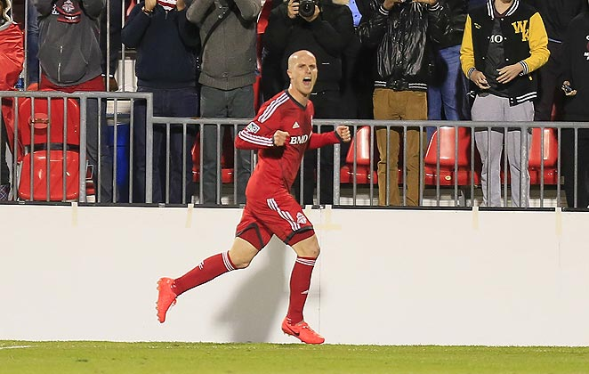 Michael Bradley scored in the 89th minute to secure the victory for Toronto FC in the Canadian Championship.