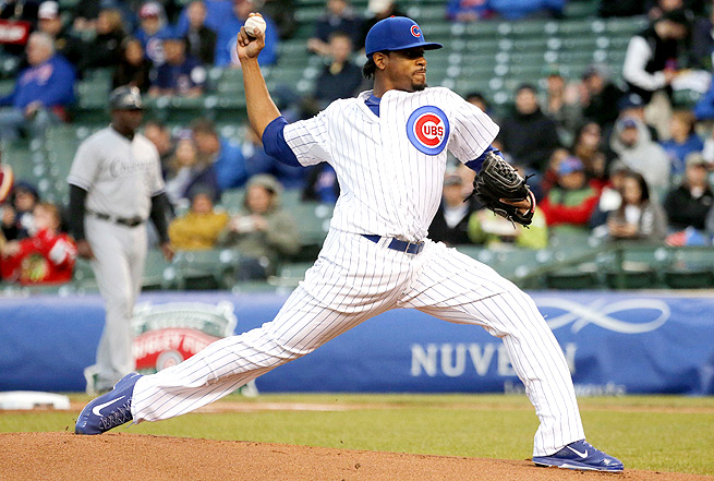 Edwin Jackson, who faces the strikeout-prone Braves on Sunday, racked up nine Ks in his last start.
