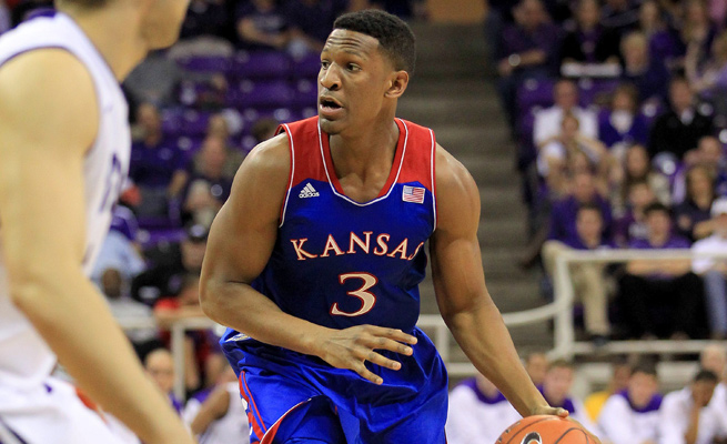 Andrew White III played limited time as a sophomore, and would do so again as a junior at Kansas.