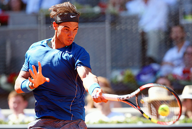 Rafael Nadal was pleased with his performance in the quarterfinals of the Madrid Open.
