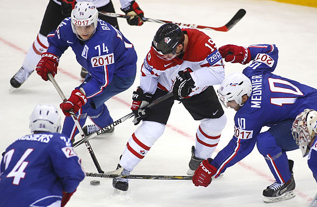 Cody Hodgson and the Canadians were bushwhacked by an opportunistic bunch of Frenchmen.