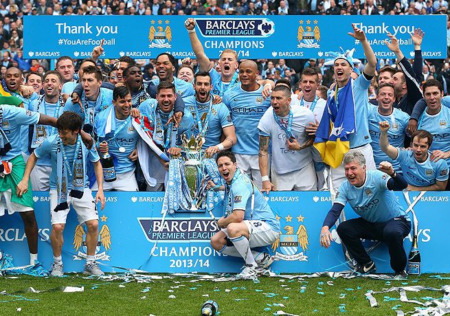 Manchester City's second EPL title in three years came in less dramatic fashion than its 2012 triumph.