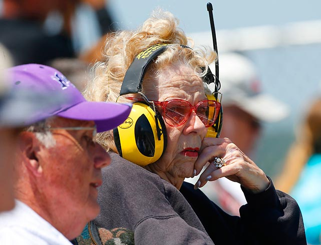Fast times at Talladega, eh Toots?