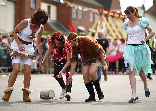 One of the world's most tasty competitions is held each year at the Stilton Village Festival where teams of four roll cheese wheels down High Street in hope of being crowned champions. All in all, it's a pretty gouda event.
