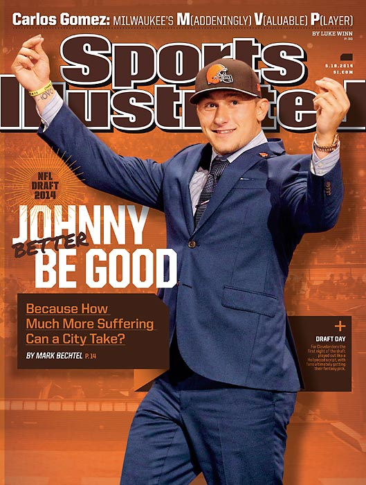 May 19, 2014  |  Some went wild when the Cleveland Browns selected Johnny Manziel at No. 22 overall, but many Clevelanders remain wary of Johnny Football. Mark Bechtel details that tension in this week's issue of Sports Illustrated.