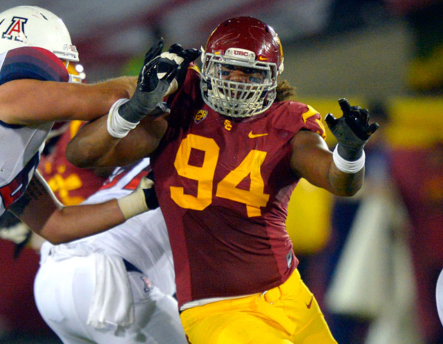 "Former interim USC head coach Ed Orgeron said mid-last season that Williams ""is going to be a first-round pick. He is probably one of the best athletes we've had here on the defensive line as far as size-speed ratio."" Williams could be a 4-3 DT or slide out to a DE spot in a 3-4. A hybrid front would be ideal for his wide-ranging talent."