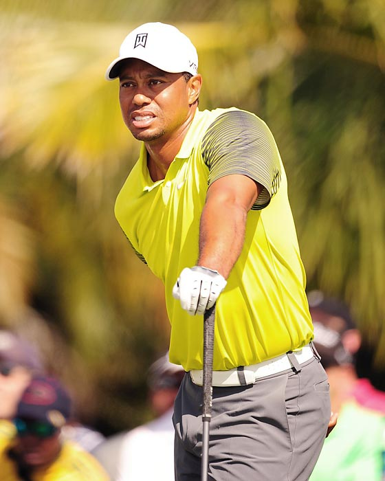 Woods was once the undisputed best golfer on the planet. A 2009 infidelity scandal brought his high-profile marital issues with then-wife Elin Nordegren to the news forefront. That combined with his struggling play have sunk Woods' reputation in recent years.